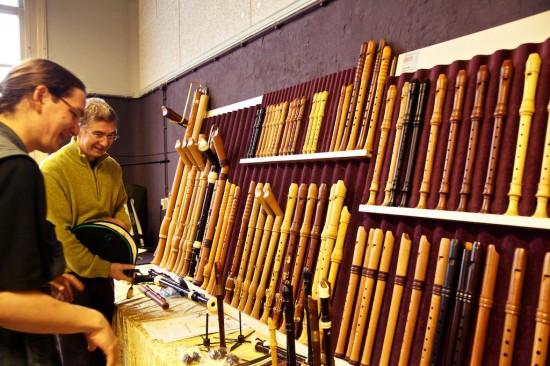 Escolhendo uma nova flauta
