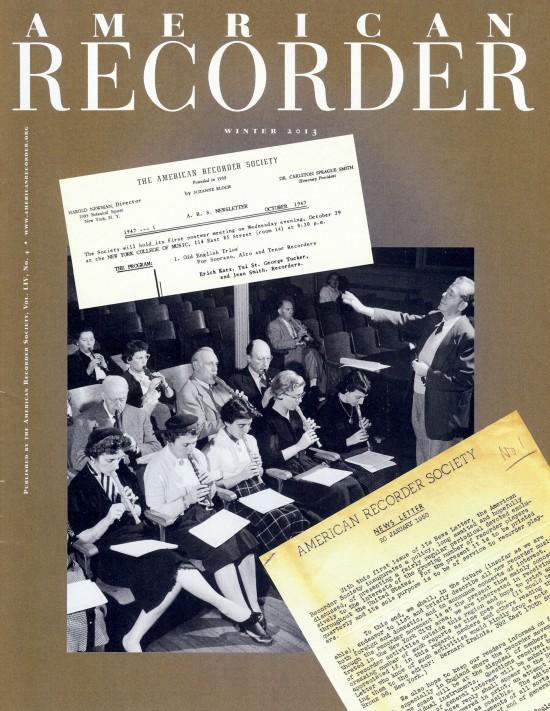 American Recorder - edição de inverno - 2013